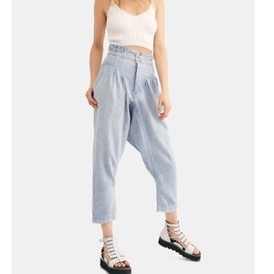 New Free People Mover & Shaker High-Rise Jeans